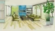كيف تجعل غرفة المعيشة الصغيرة تبدو أكبر؟