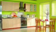 ما هي الألوان المناسبة لتصميم المطبخ