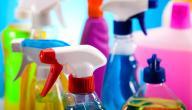 بعض الأكاذيب الموجودة على منتجات التنظيف