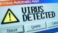 ما الذي يشير إلى تعرض جهازك للفيروسات؟