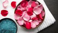 طرق استخدام بتلات الورد في المطبخ والحمام