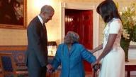 مسنة تحقق حلمها بالرقص مع الرئيس أوباما