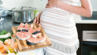 خطورة السمك على الحامل