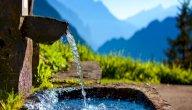 ما هو الفرق بين المياه العذبة و المياه النقية