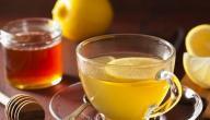 فوائد الشاي والليمون