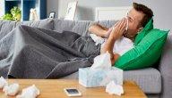 أعراض البرد في الجسم