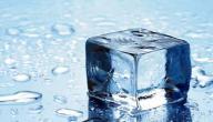 فوائد الثلج للصدر