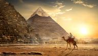 كيف تم بناء الأهرامات