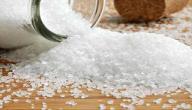 فوائد الملح الخشن للشعر