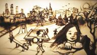 معلومات عن فن الرسم بالرمل