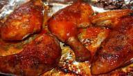طريقة تتبيلة الدجاج المشوي بالفرن