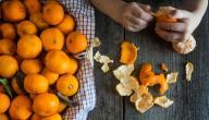 طرق تجفيف قشر البرتقال