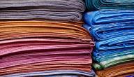أنواع الحرير الطبيعي