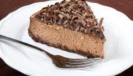 طريقة عمل تشيز كيك بالشوكولاتة