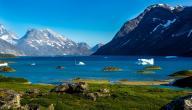 معلومات عن جزيرة جرينلاند