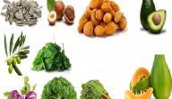 الأطعمة الغنية بفيتامين e