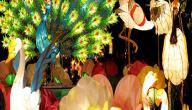 تقاليد مهرجان منتصف الخريف