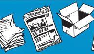 مراحل إعادة تدوير الورق