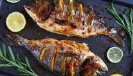 طريقة عمل سمك الكنعد
