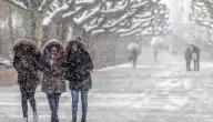 موضوع تعبير عن الشتاء