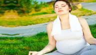 تمارين التنفس للحامل