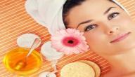 إزالة شعر الوجه بالعسل