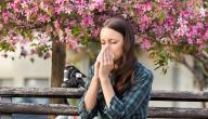 علاج حساسية الأنف للحامل