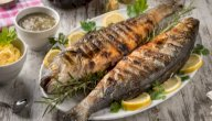 طريقة عمل سمك القاروص