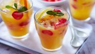طريقة عمل عصير الفواكه المشكلة