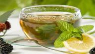 فوائد الشاي الأخضر بالنعناع