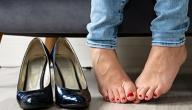 كيفية التخلص من رائحة الحذاء الكريهة