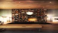 طريقة ترتيب الكتب على الرفوف