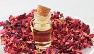 فوائد زيت الورد للشفايف