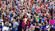 موضوع تعبير عن الزيادة السكانية