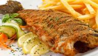 طريقة عمل سمك الهامور المقلي