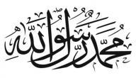 كلمات في مدح الرسول