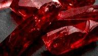 فوائد حجر الياقوت الأحمر