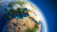 مكونات القشرة الأرضية