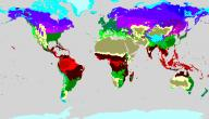 تعريف النطاقات المناخية