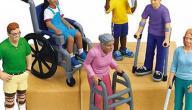 أنواع الإعاقات