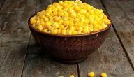 الفرق بين الذرة البيضاء والذرة الصفراء