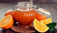 طريقة عمل معجون البرتقال