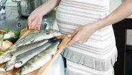 أفضل أنواع السمك للحامل