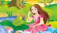 قصة الأميرة والضفدع