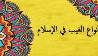 أنواع الغيب في الإسلام