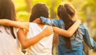 موضوع تعبير عن الصداقة بالعناصر