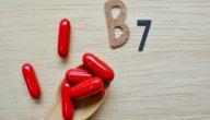 أعراض نقص فيتامين B7