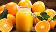 هل عصير البرتقال يرفع السكر