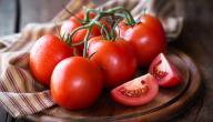 السعرات الحرارية في الطماطم