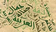 موضوع عن اللغة العربية
